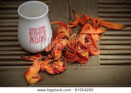 Bai he hua Lily flowers tea