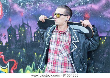 Chilling Skater Guy