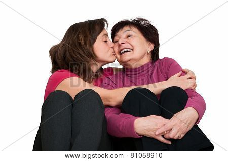 Love - mother and daughter