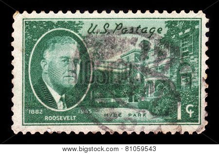 Roosevelt And Hyde Park Residence