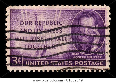 Joseph Pulitzer (1847-1911), Journalist