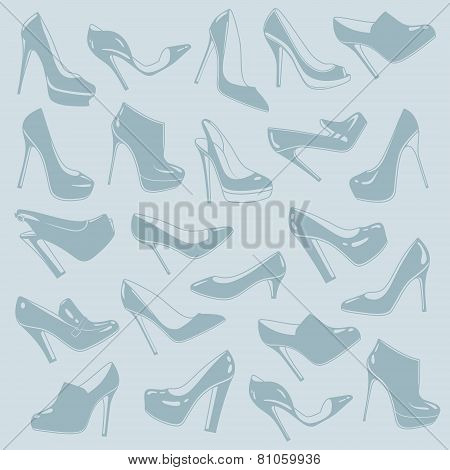 Shoes pattern