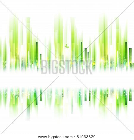 Abstract Summer Urban Background For Your Text