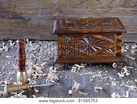 Chest Wooden.