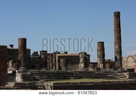 The Temple Of Jupiter, Pompei