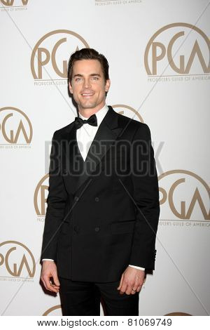 LOS ANGELES - JAN 24:  Matt Bomer at the Producers Guild of America Awards 2015 at a Century Plaza Hotel on January 24, 2015 in Century City, CA