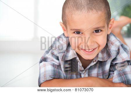 Happy cheerful child
