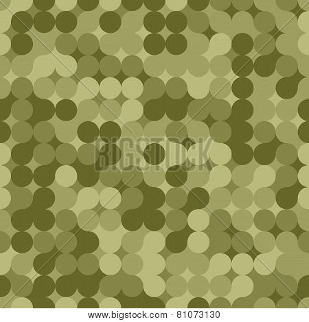 Modern Camouflage Seamless Pattern. Vector