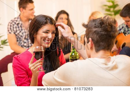 Courtship At House Party