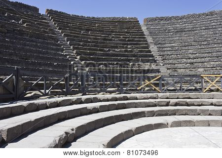 Pompei Amphitheatre detail
