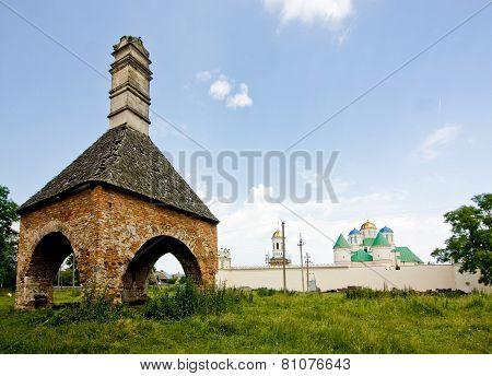 Castle Ruins In Mezhirich