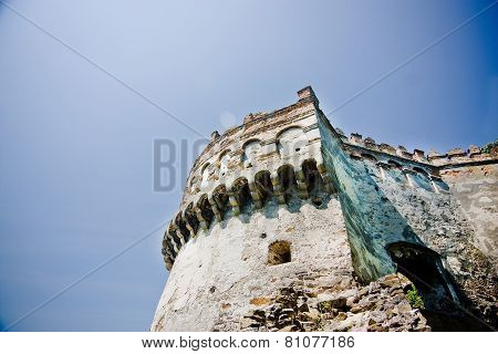 Medieval Castle In Ostrog