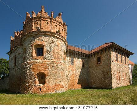 Medieval Castle In Starokostiantyniv