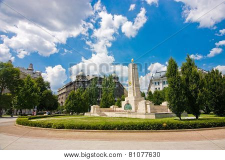 Monument For Soviet Liberation