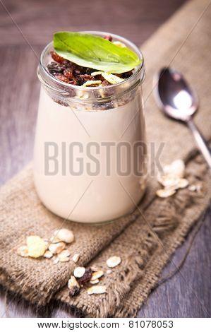 Yogurt With Muesli