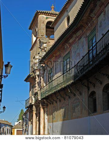Penaflor palace balcony, Ecija.