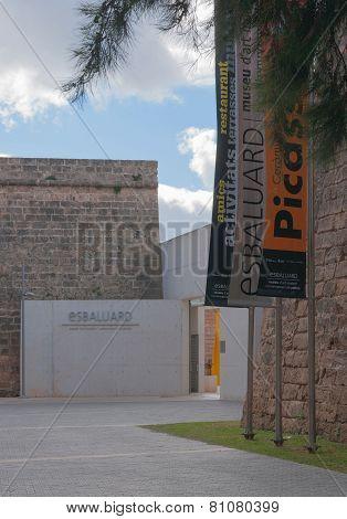 Es Baluard entrance Palma