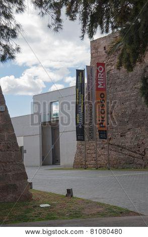Es Baluard entrance