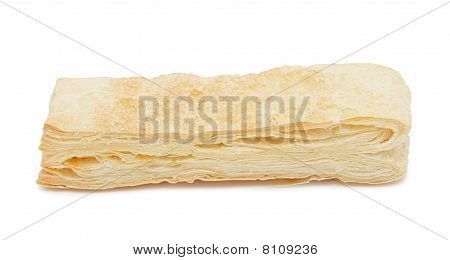 Puff Pastry, Isolated
