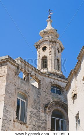 SS. Giuseppe and Anna Church. Monopoli. Apulia.