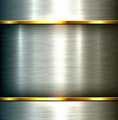 stock photo of plating  - Polished metal background - JPG