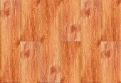 picture of laminate  - Seamless wood laminated floor texture pattern as interior design background - JPG