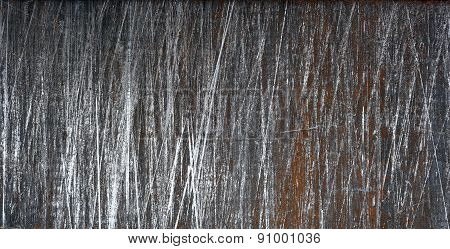 Old rusted sheet metal background, texture