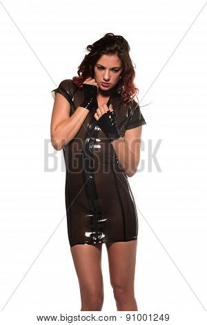 Brown Latex