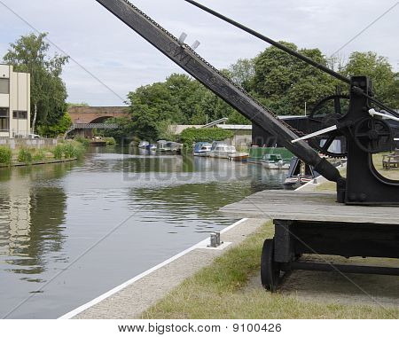 Wey Navigation. Guildford. Surrey.