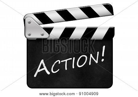 Movie Clapper, Action