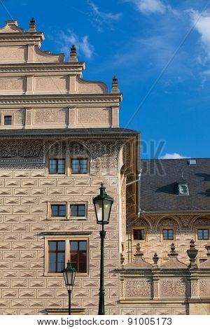 The Famous Schwarzenberg Palace Near The Prague Castle