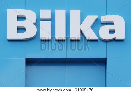 Logo of the brand Bilka in Denmark