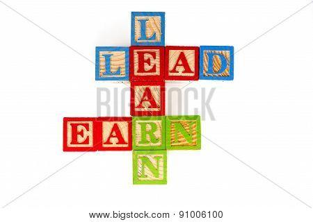 Learn, Lead And Earn