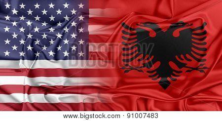 USA and Albania.