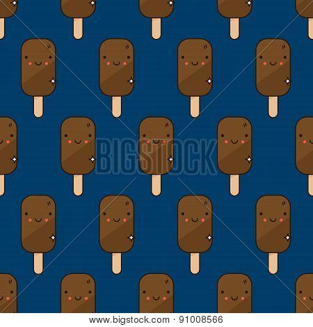 Cute Ice Cream Pattern