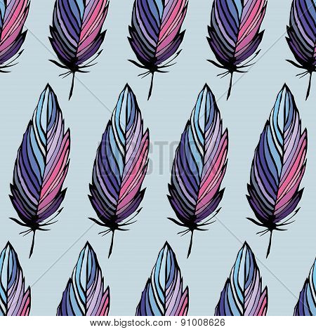 Feather Seamless Background