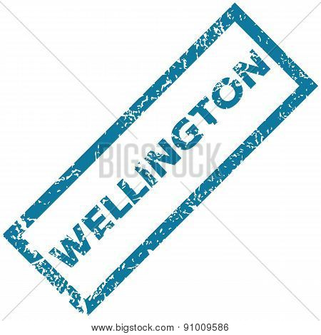 Wellington rubber stamp