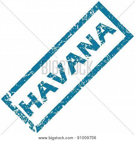 Havana rubber stamp