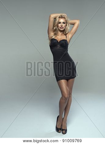 Fashionable Young  Sensual Woman