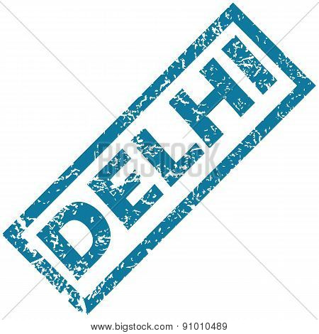 Delhi rubber stamp