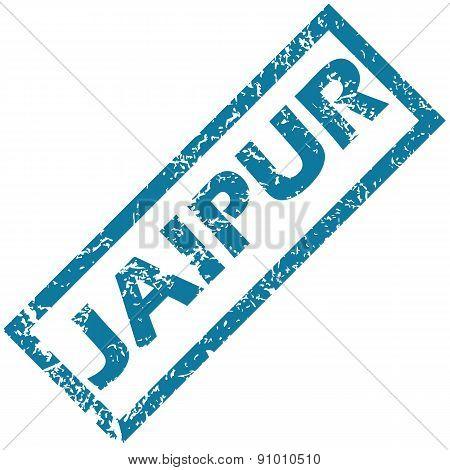 Jaipur rubber stamp