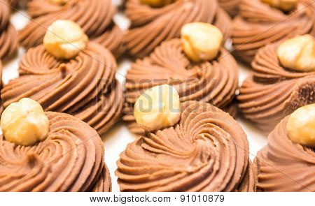 Hazelnut Whirl Chocolates