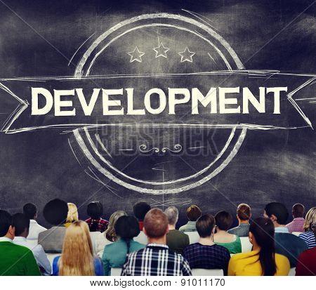 Development Innovation Cange Technology Improvement Concept
