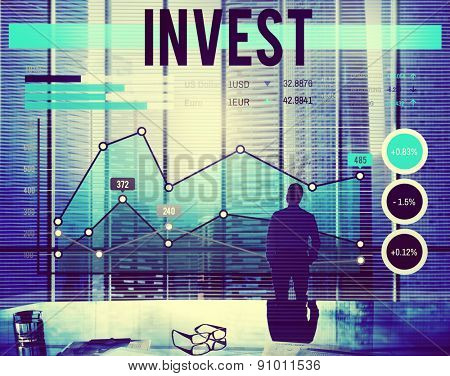 Invest Investment Business Budget Accounting Concept
