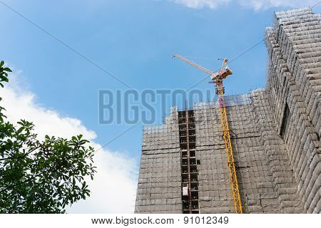 Tower Crane, Buildings Under Construction