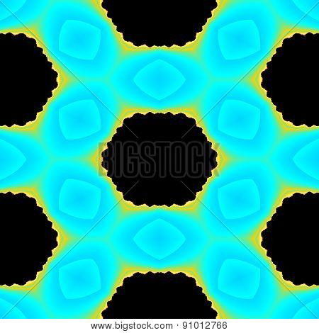 Seamless Vintage Abstract Fractal Geometric Texture Or Background