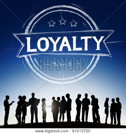 Loyalty Values Honesty Integrity Honest Concept