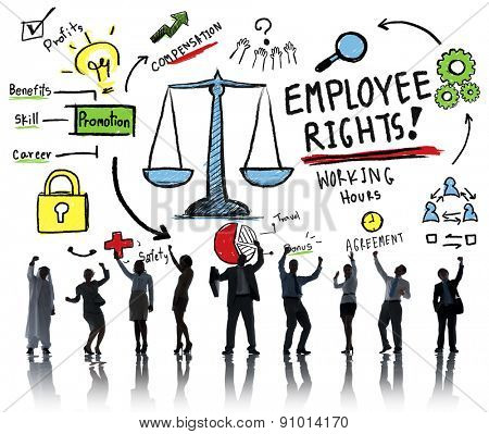 Employee Rights Employment Equality Job Business Success Concept