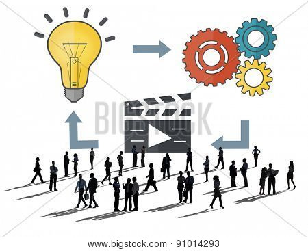 Planning Ideas Creativity Inspiration Thoughts Multimedia Concept