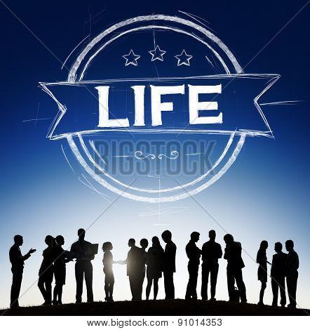 Life Breath Living Life Cycle Spirit Concept